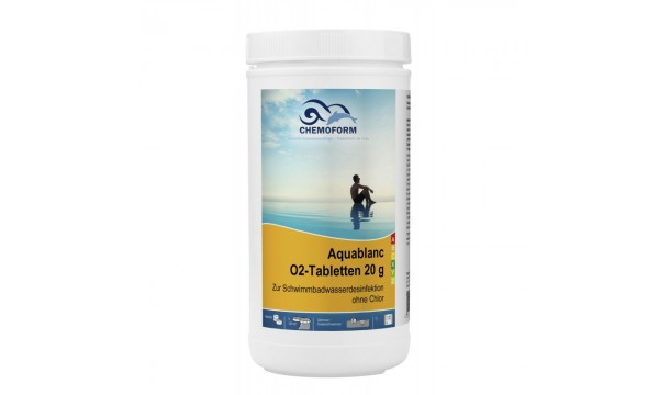 Aktyvus deguonis 20g tabletės CHEMOFORM AQUABLANC O2, 1kg