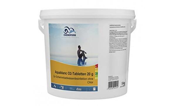 Aktyvus deguonis 20g tabletės CHEMOFORM AQUABLANC O2, 5kg