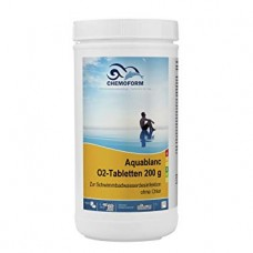 Aktyvus deguonis 200g tabletės CHEMOFORM AQUABLANC O2, 1kg