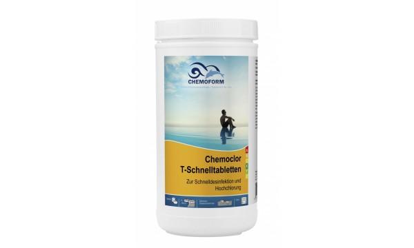 Greito tirpimo 20g chloro tebletės  CHEMOFORM CHEMOCLOR T (greitas chloras, šokas), 1kg
