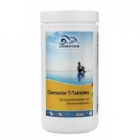Lėtai tirpstančios 20g chloro tabletės CHEMOFORM CHEMOCLOR T (lėtas chloras), 1kg