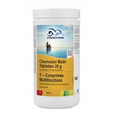 MULTI tabletės 20g (chloras,algicidas,flokuliantas) CHEMOFORM, 1kg