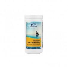 MULTI tabletės 200g (chloras,algicidas,flokuliantas) CHEMOFORM, 1kg