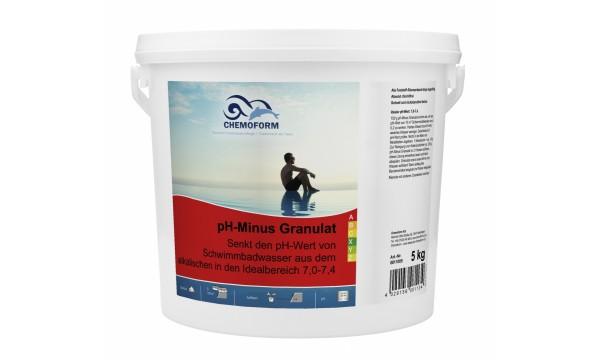 pH minus granulės CHEMOFORM, 5 kg